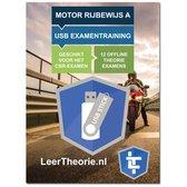 Motor Rijbewijs A - USB Motor Examentraining A - 950 oefenvragen - 19 Theorie Examens - Ontworpen voor het CBR theorie-examen 2021