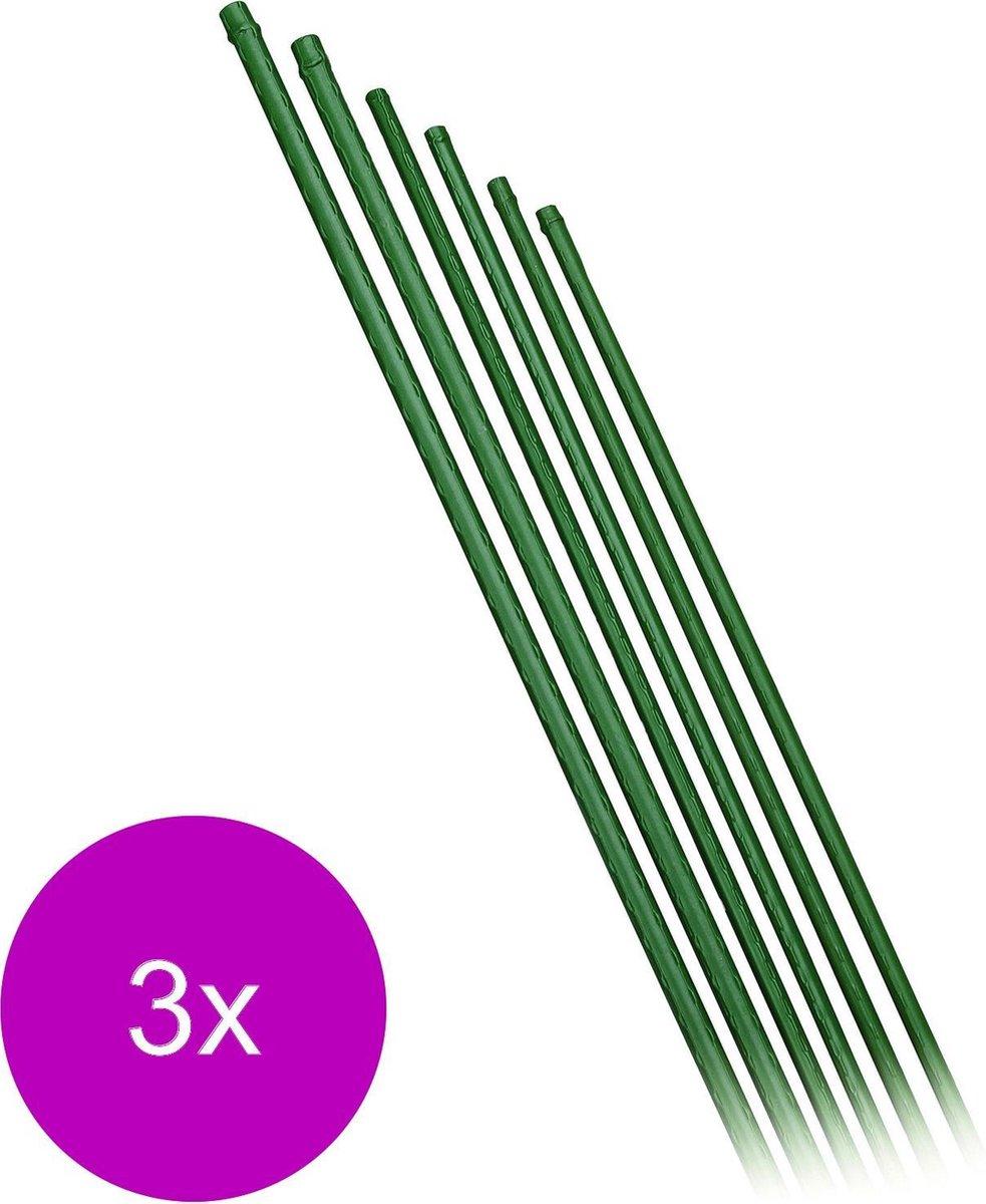 Nature Kunststof Plantenstok Groen - Klim-En Geleide Artikel - 3 x 1.1x1.1x120.5 cm