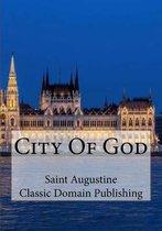 Boek cover City of God van St. Augustine