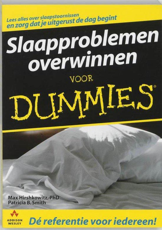 Slaapproblemen Overwinnen Voor Dummies - M. Hirshkowitz  