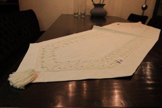 Katoenen Tafelloper 50x250 cm - Naturel