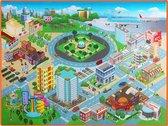 DW4Trading® Speelkleed stad 120x90xcm ontwikkelen