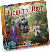Ticket to Ride Afrika - Uitbreiding - Bordspel