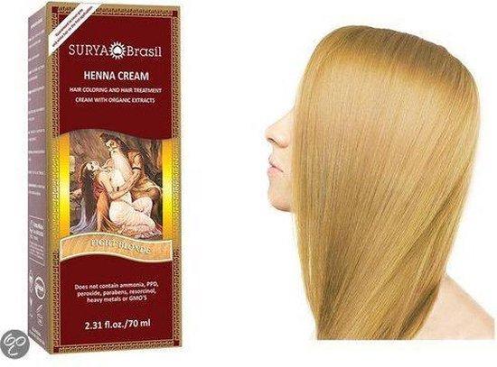 Surya Brasil Henna Cream Haarverf - 70ml - Licht Blond