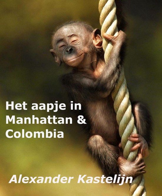 Monkey Boy - Het aapje in Manhattan & Colombia - Alexander Kastelijn pdf epub
