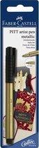 tekenstift Faber-Castell Pitt Artist Pen 250 Gold FC-167397