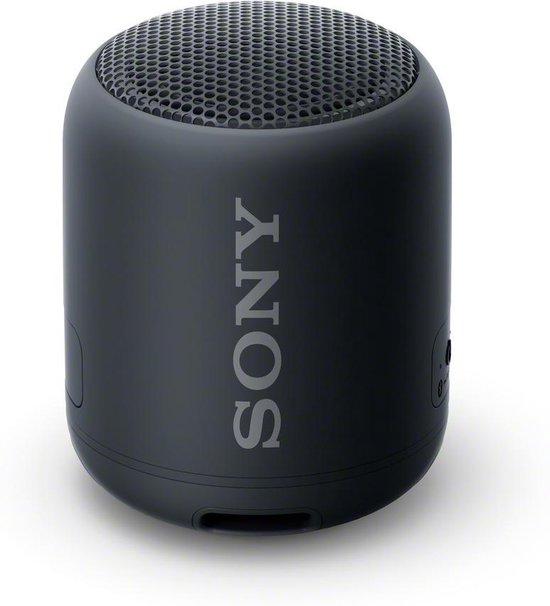 Sony SRS-XB12 - Bluetooth Speaker - Zwart