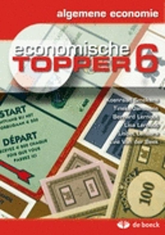 Economische topper 6 - algemene economie - Koenraad Smekens | Fthsonline.com