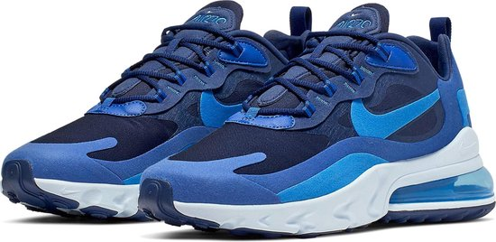 Nike Air Max 270 React Sneakers - Maat 44.5 - Mannen - donker  blauw/blauw/wit