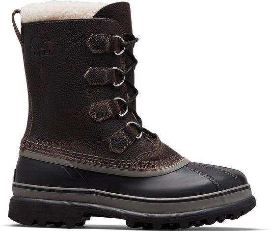 Sorel Caribou? WL Snowboots Heren - Quarry, Black