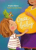 Boek cover Onze baby van Brigitta Bijloos (Hardcover)