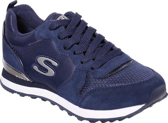 Skechers Retros Og 85 Goldn Gurl Dames Sneakers - Navy - Maat 39