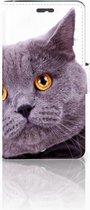 Exclusief Design Hoesje Kat voor de Lenovo K6