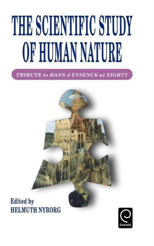 Boek cover Scientific Study of Human Nature van Helmuth Nyborg (Hardcover)