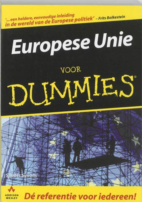 Voor Dummies - Europese Unie voor Dummies - Sander Simons   Fthsonline.com