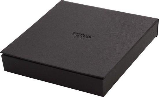 Boccia Titanium 0835-01 Collier - Leer - Zwart - Boccia Titanium