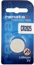 1 Stuk Renata CR2025 3v lithium knoopcel batterij
