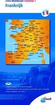 ANWB wegenkaart - Frankrijk 1