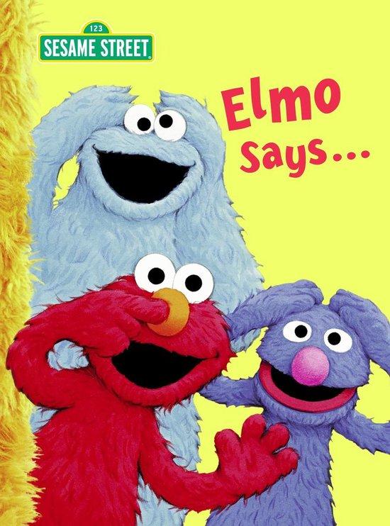 Boek cover Elmo Says... van Sarah Albee (Hardcover)
