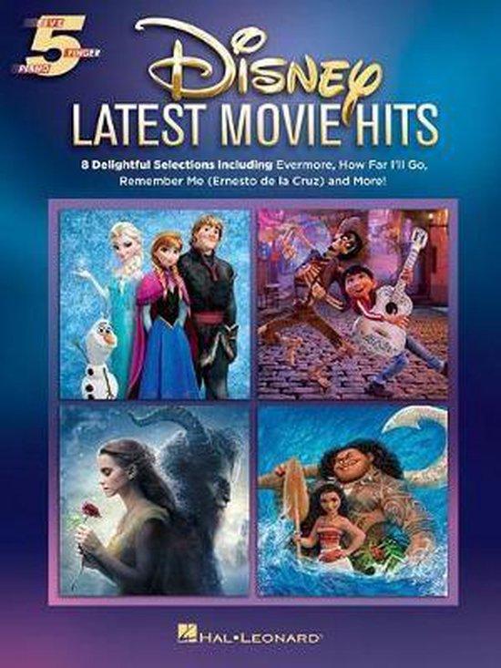 Boek cover Disney Latest Movie Hits van Hal Leonard Corp. (Hardcover)