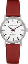 Danish Design IV19Q199 horloge dames - rood - titanium