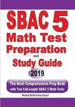 SBAC 5 Math Test Preparation and Study Guide