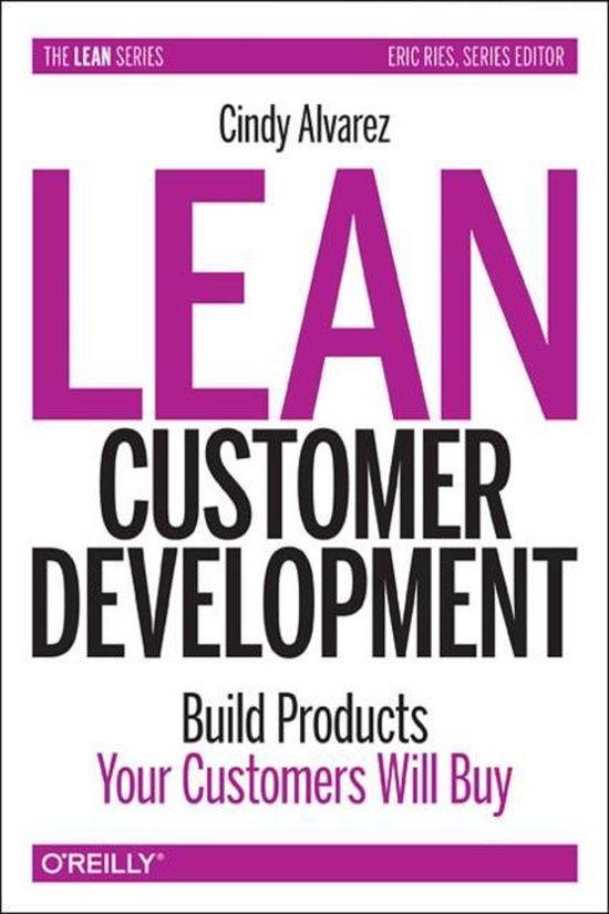 Boek cover Lean Customer Development van Cindy Alvarez (Paperback)
