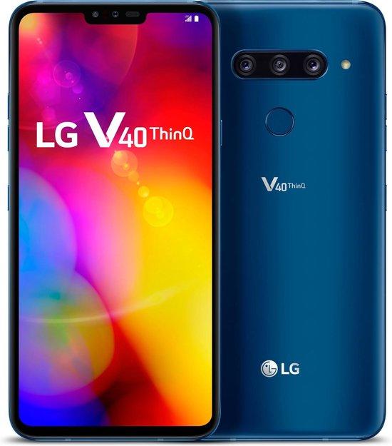 LG V40 ThinQ - 128GB - Dual Sim - Blauw