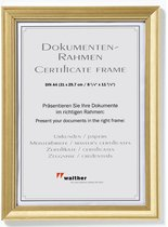 Walther Design Lounge - Fotolijst - Fotoformaat 21 x 29,7 cm (A4) - Goud