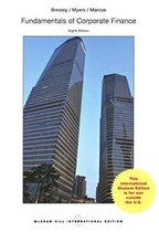 Fundamentals of Corporate Finance / Brealey 8e