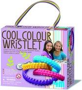 4M Crea Girl Accessories - Armband Coole Kleuren