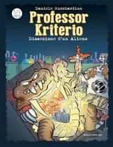 Omslag Professor Kriterio - Dissezione d'un Alieno