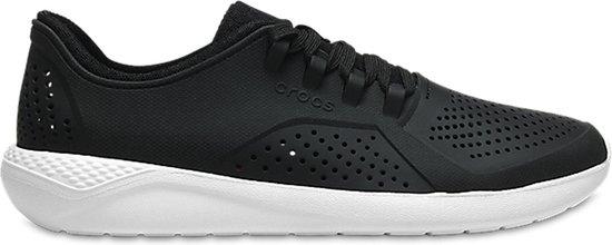 Crocs LiteRide Pacer Sneakers Maat 3637 Vrouwen zwartwit