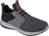 Skechers Delson Camben Heren Sneakers - Grijs - Maat 43