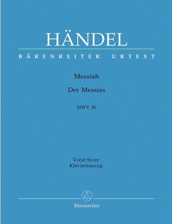 Boek cover Handel: Messiah HWV56 van Georg Friedrich Handel (Onbekend)