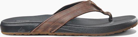 Reef Cushion Bounce Phantom Le Heren Slippers - Black/Brown - Maat 42
