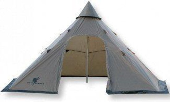 Wolf Camper Lawu 10 - Tipitent - Kaki - 10-Persoons