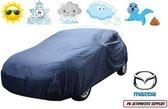 Bavepa Autohoes Blauw Geventileerd Geschikt Voor Mazda 323 sedan 1994-1998 / 323F 1994-1998