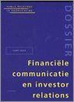 Financ. communic. & investor relat.(public relations & voorlichting)