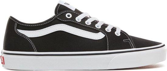 Vans Filmore Decon Heren Sneakers - (Canvas) Black/White - Maat 42.5