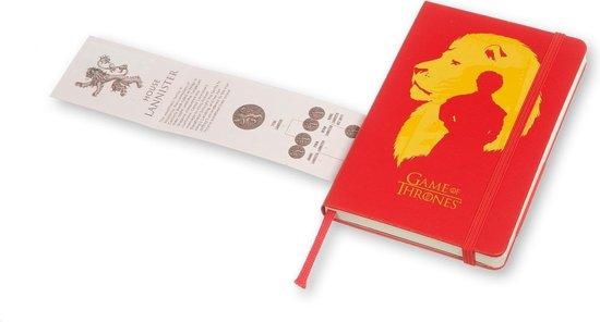 Moleskine notitieboek Game of Thrones - Pocket - Hard cover - Gelinieerd - Moleskine