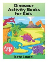Dinosaur Activity Books for Kids Ages 4-8