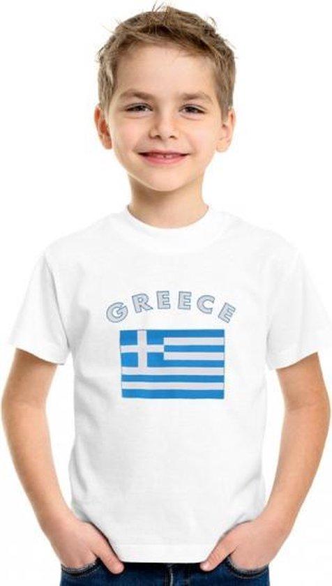Greece shirt kinderen L (146-152)