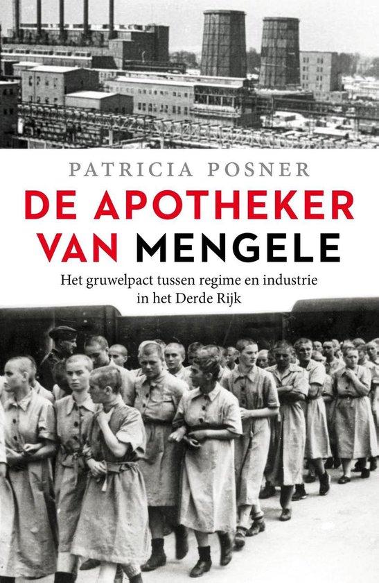 Boek cover De apotheker van Mengele van Patricia Posner (Paperback)