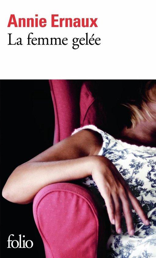 Boek cover La femme gelée van Annie Ernaux (Onbekend)