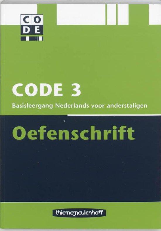 Boek cover Code 3 van T. Boers (Paperback)