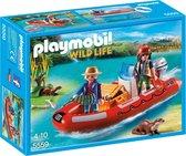 Playmobil Rubberboot met stropers - 5559