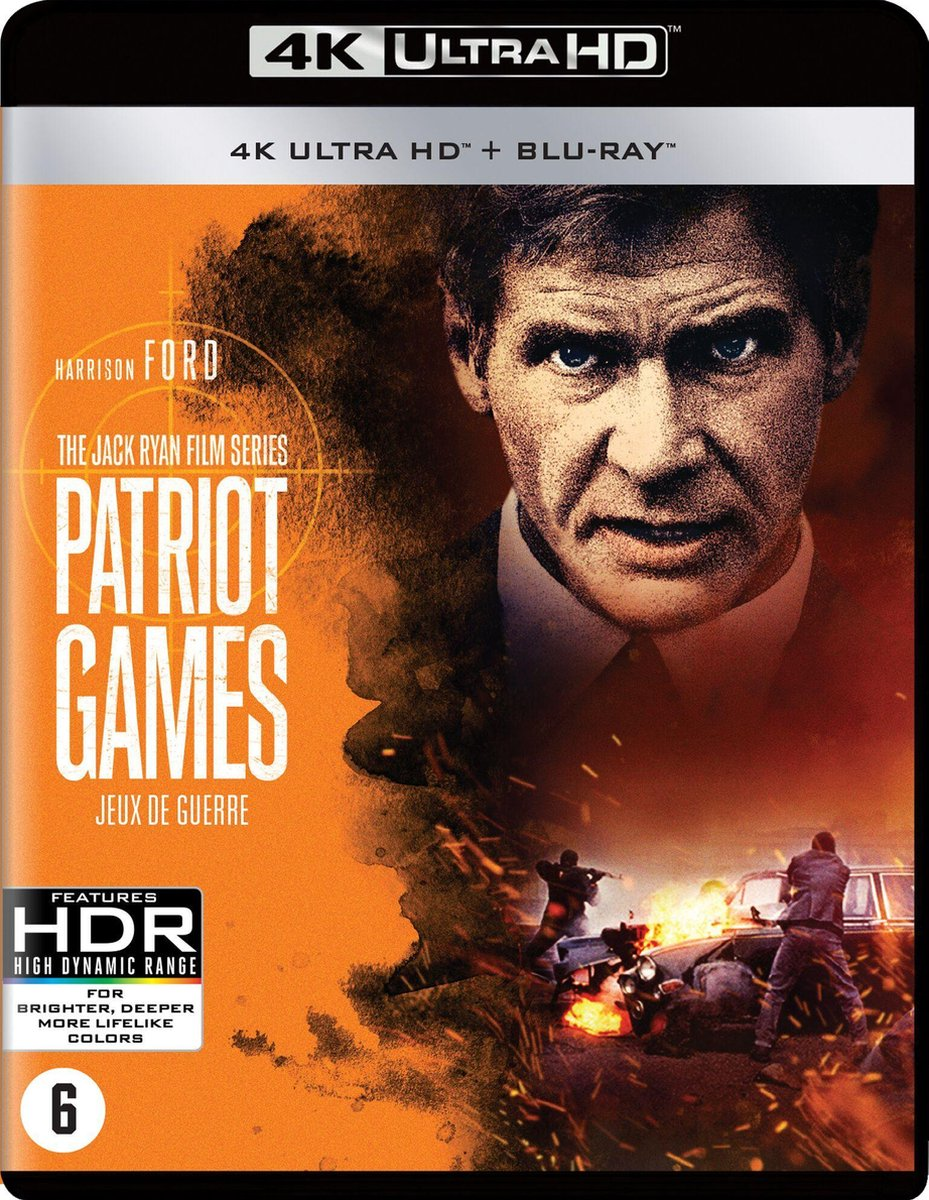 Patriot Games (4K Ultra Hd Blu-ray)-