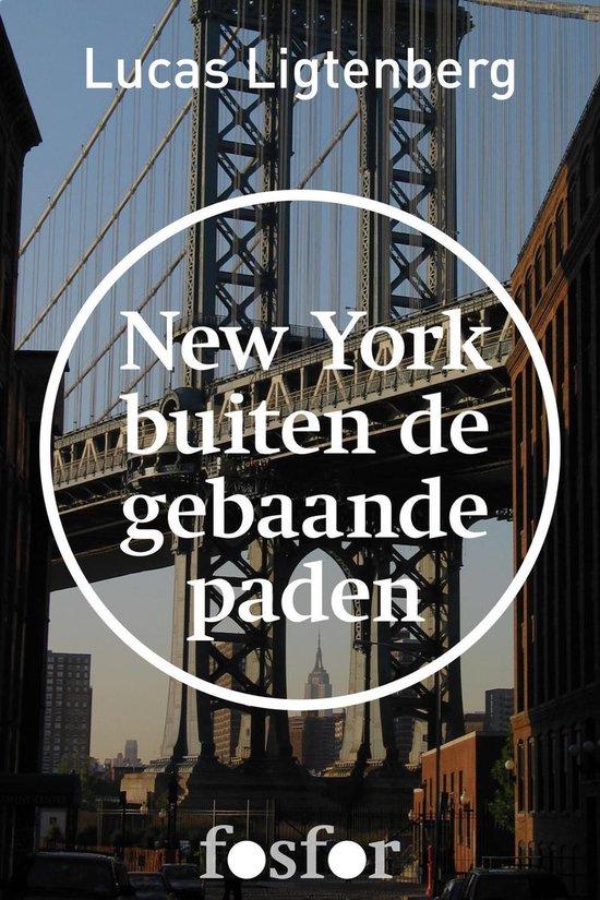 Boek cover New York buiten de gebaande paden van Lucas Ligtenberg (Onbekend)