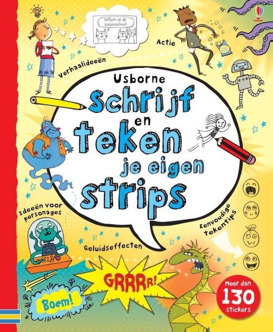 Boek cover Schrijf en teken je eigen strips van Verschillende Striptekenaars (Hardcover)